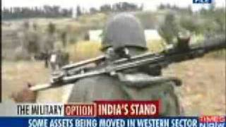 vuclip Mumbai Terror Attack Pak moves army closer to Punjab border, builds new bunkers