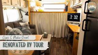 Renovated RV Tour - Class C Bunk House