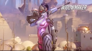 Overwatch - Widowmaker Gameplay Trailer