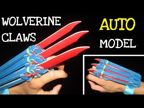Thumbnail: How to make Automatic Wolverine Claws | Wooden Sticks
