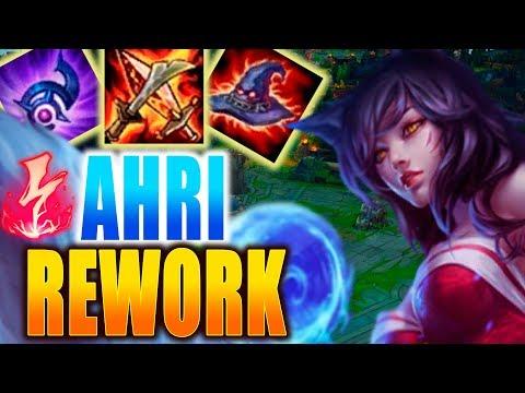 AHRI REWORK MID! UNA EPICA TRAS MUCHOS MESES!! OBLIGATORIA! gameplay   lol   eldelabarrapan
