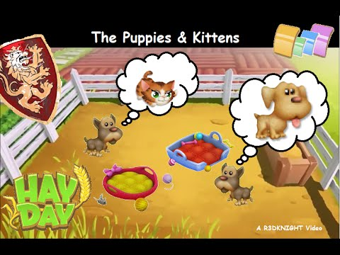 Hay Day Puppies & Kittens