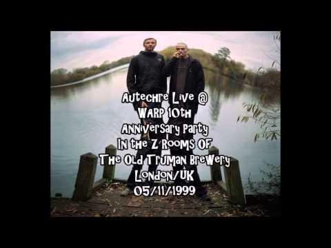 Autechre Live @ WARP 10th Anniversary Party