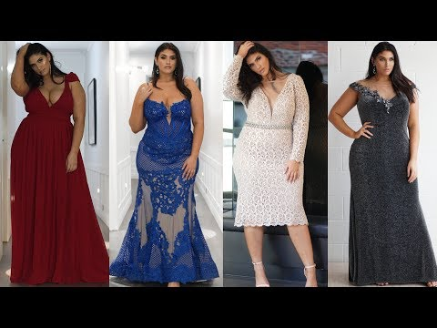 Plus Size Evening Wear Lookbook