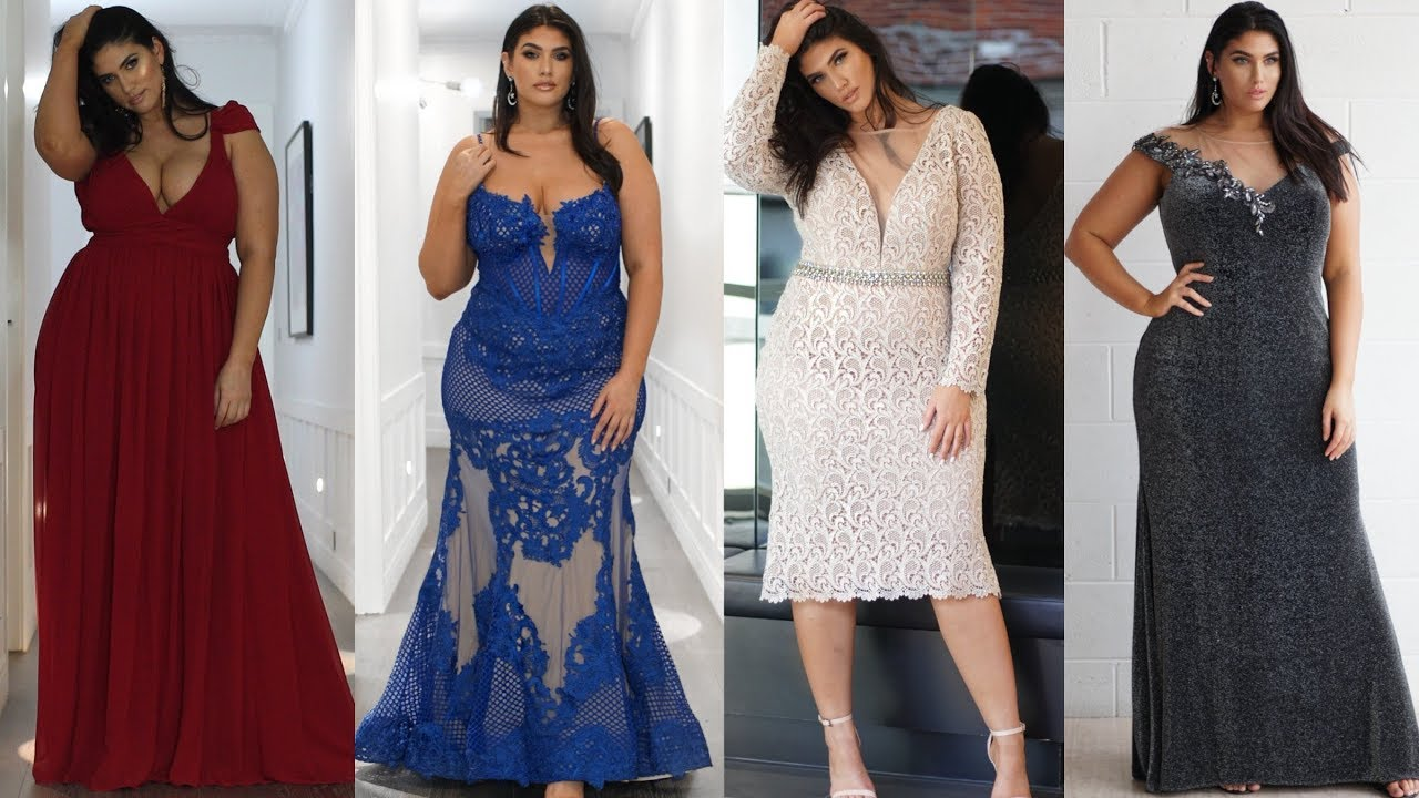 PLUS SIZE EVENING WEAR LOOKBOOK| NEW YORK DRESS| LA\'TECIA THOMAS