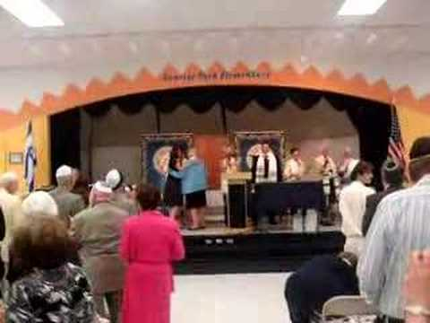 Temple Beth Shira Adult B'nai Mitzvah 5/2008 Simon Tov Mazel