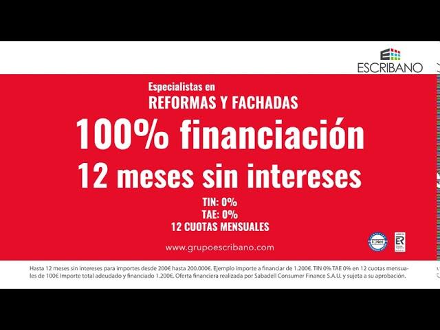 Grupo Escribano   Financiación