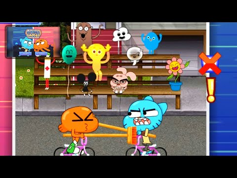The Amazing World of Gumball: The Gumball Games - Gameplay Walkthrough Part 4