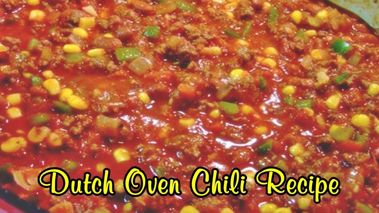 Dutch oven chili recipe easy food recipes youtube dutch oven chili recipe easy food recipes forumfinder Choice Image