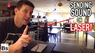Sending Sound on a Laser! - The Science of Telecommunication with Mr. G - Part 3