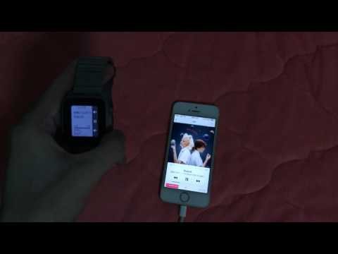 pebble time steel music control