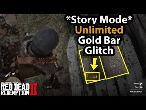 *Story Mode* Unlimited Gold Bar Glitch Fast & Easy In Red Dead Redemption 2