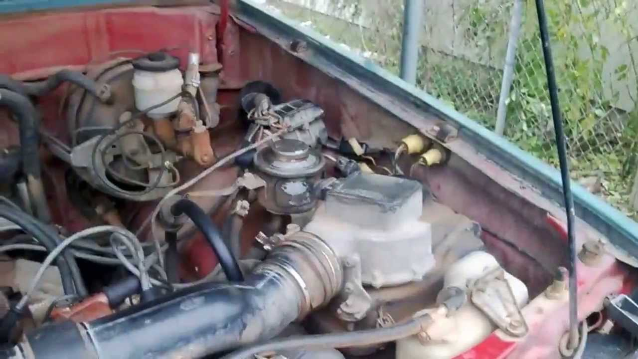 1986 Toyota 4x4 Pickup Restoration Episode 5  Ignition
