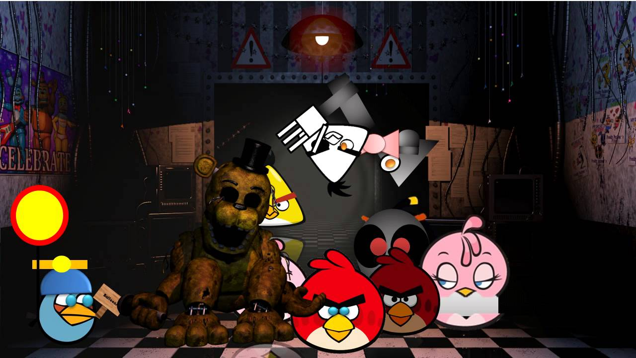 five nights at reddy s 2 a angry birds and five night s at