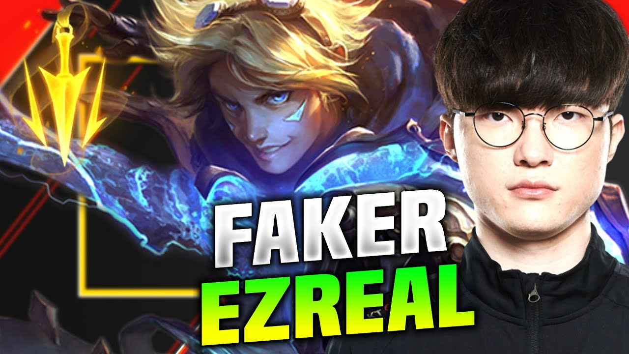 Faker Goes ADC With Ezreal! - T1 Faker Plays Ezreal vs Senna ADC! | KR SoloQ Patch 10.15