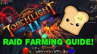 Torchlight 2 (Synergies Mod Guide) Quick DK Raid Farming Guide!