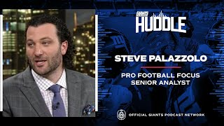 PFF's Steve Palazzolo Talks Daniel Jones, Saquon Barkley, Giants Draft Strategy   New York Giants