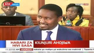 Waziri wa Kilimo Mwangi Kiunjuri ahojiwa kuhusu sakata ya malipo ya wakulima