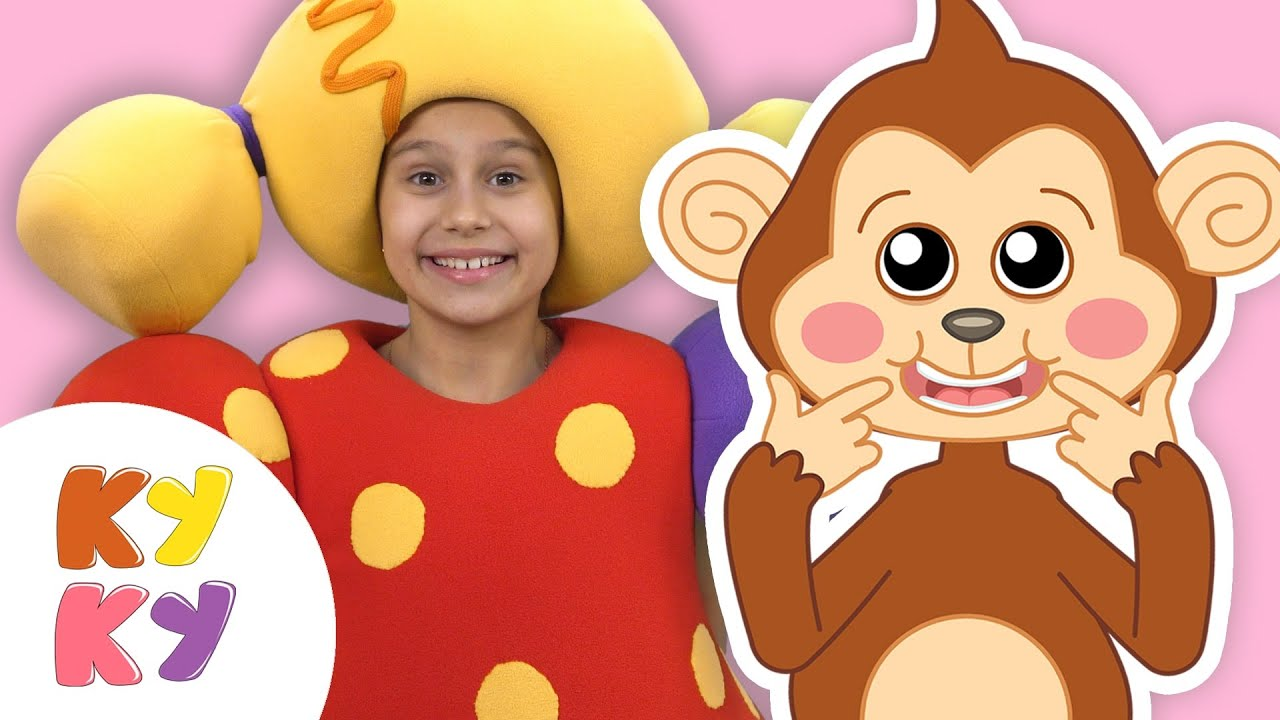 Премьера! МАКАКА УЛЫБАКА - Кукутики - Песенки для детей малышей про животных