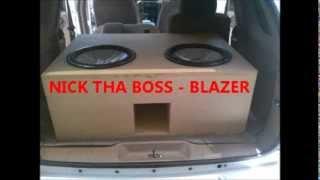 nick da boss 2 kicker 15 cvr s on 2000 watts hifonic s
