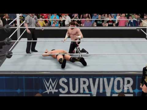 WWE Survivor Series 2016: Miz vs. Sami Zayn WWE 2K17 Prediction