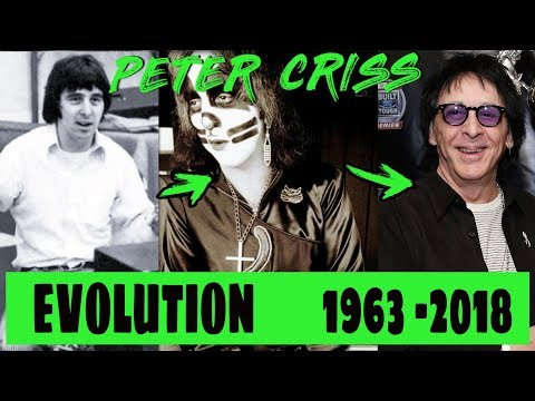 The Evolution Of Peter Criss From 18 To 73 Years Old