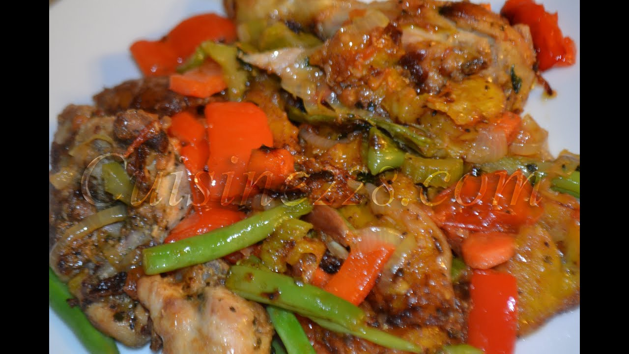 Poulet dg cuisine camerounaise youtube for Africaine cuisine