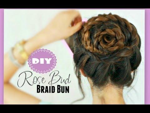 ★rose-braid-bun-tutorial-|-cute-hairstyles-for-prom