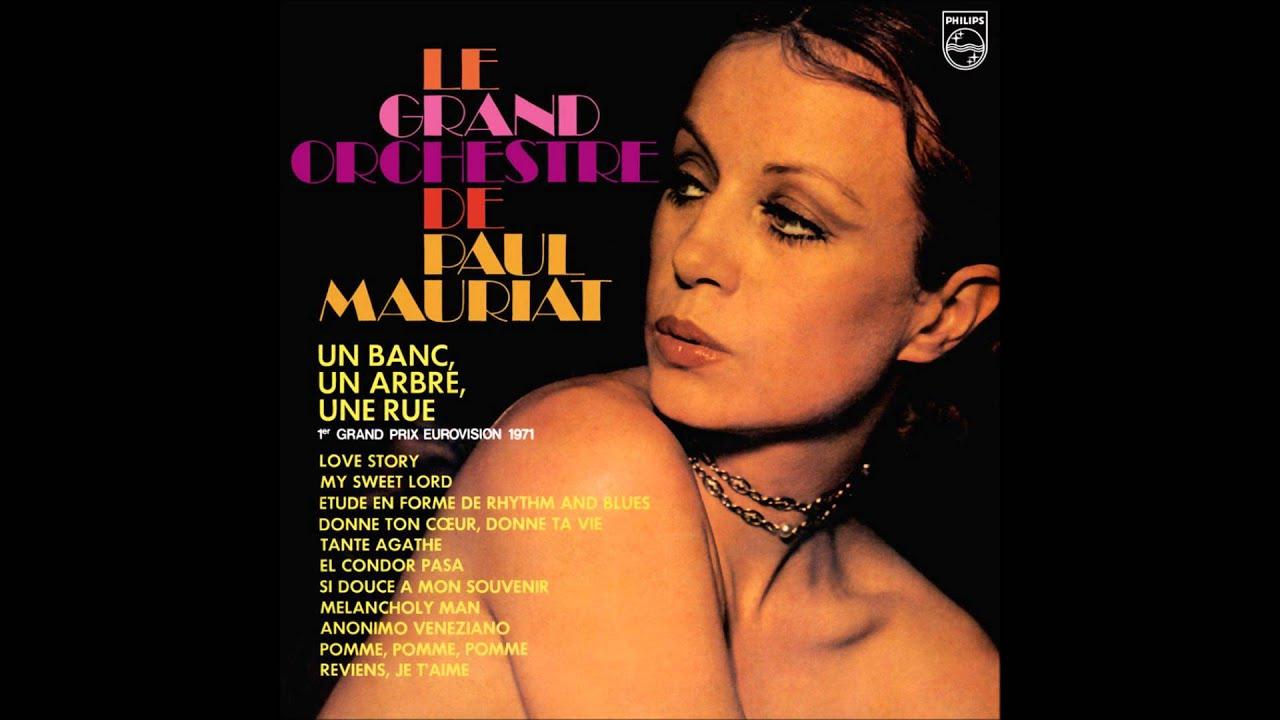 Paul Mauriat  Un Banc, Un Arbre, Une Rue (france 1971