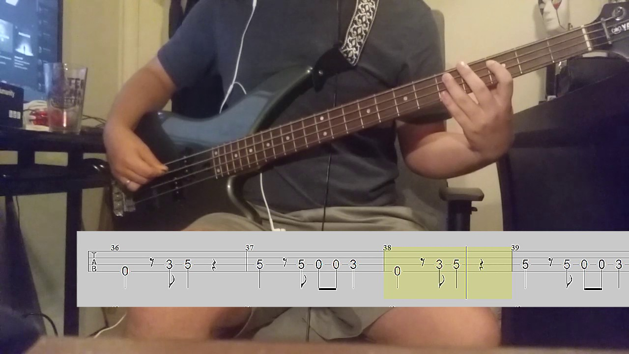 Another Brick In The Wall Part Ii Pink Floyd Bass Cover W