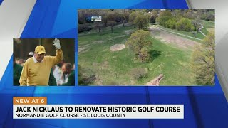 Golf Legend Jack Nicklaus Joining Efforts To Renovate Normandie Golf Course