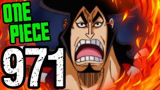 """One Piece Chapter 971 Review """"blazing Glory!!"""""""