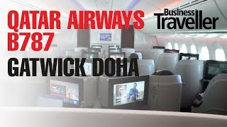 Qatar Airways B787 Launch London Gatwick to Doha - Business Traveller