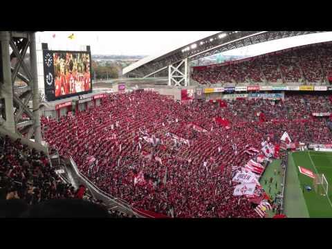 J League Urawa Red Diamons Fans at Saitama Stadium 2002