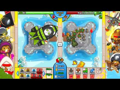 ALL THE SKINS!!! Bloons TD Battles Skin Mania