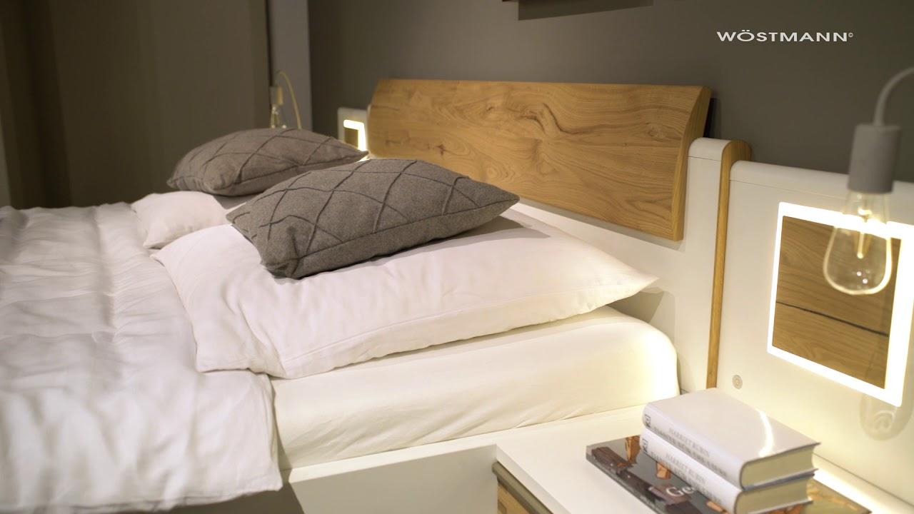 Hochwertige Schlafzimmer von Wöstmann Markenmöbel   YouTube