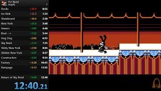 The Impossible Yo! Noid Speedrun!