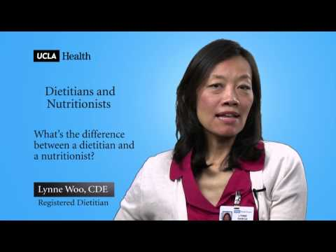 Dietitians and Nutritionists | Video FAQs UCLA Family Health Center