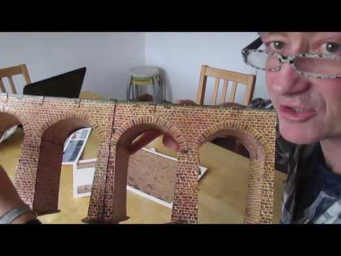 How to make a viaduct or tunnel for your model railroad
