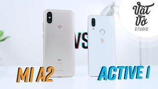 So sánh Vsmart Active 1 & Xiaomi Mi A2