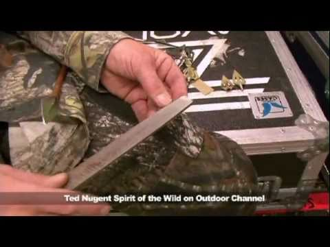 Ted Nugent Shares Fred Bear's Broadhead Chiseling Tip