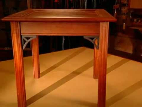 WoodWorks Episode 101 Chippendale Side Table Video Preview