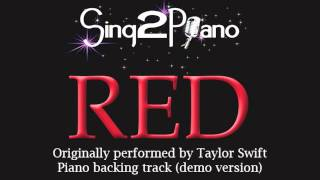 Stream | download https://s2m.lnk.to/stfgeaidcdbaby http://www.cdbaby.com/cd/sing2piano62amazon - soon!'red'originally performed by: taylor swift (released i...