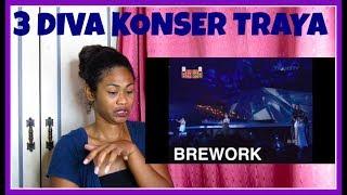 3 DIVA KONSER TRAYA KEISDAY | Reaction