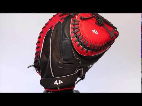 44 Pro Custom Softball Gloves Signature Series Girls Fastpitch Catchers Mitt
