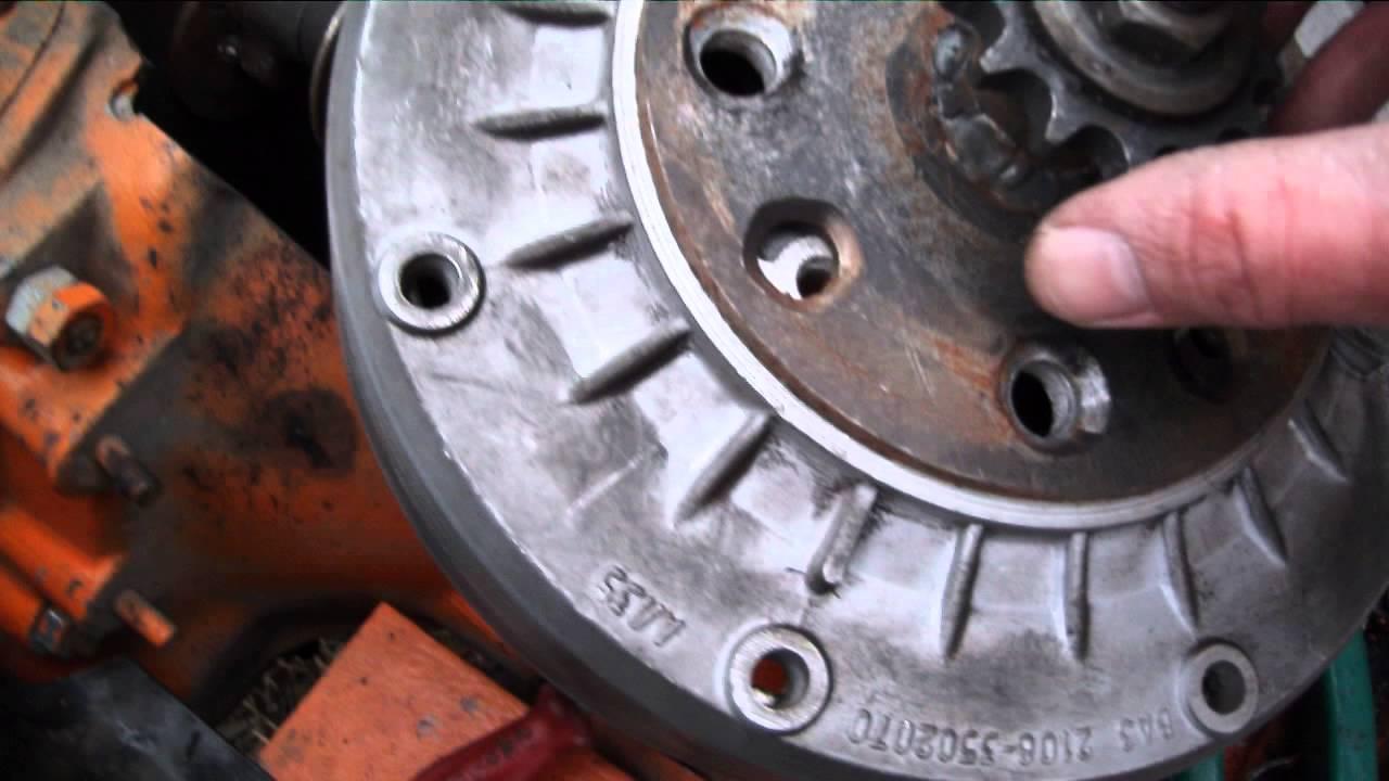 Двигатель и сцепление своими руками фото 73