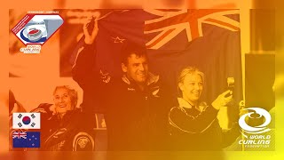 Korea v New Zealand - round robin - World Mixed Doubles Curling Championship 2019