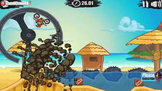 Moto X3M 3 (1-14 Levels) Motor Bike Racer Flash Online Free Games GAMEPLAY VİDEO
