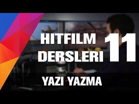 Hitfilm Türkçe Dersleri - Video Da Yazi Nasıl Yazılır? [11]