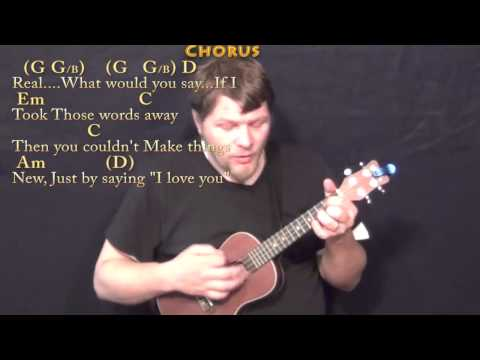 Guitar guitar tabs more than words : More Than Words (EXTREME) Ukulele Cover Lesson with Chords/Lyrics ...